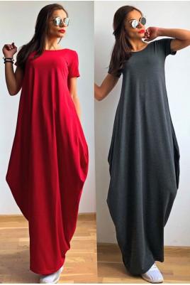 Дамска дълга рокля в 4 цвята