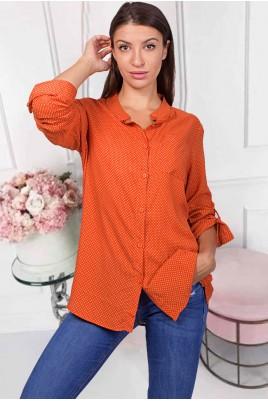 Дамска блуза тип риза в 3 цвята