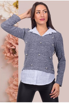 Women's blouse in 3 colors