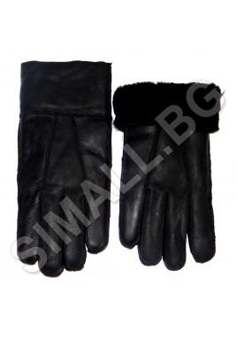 Мъжки ръкавици естествена кожа