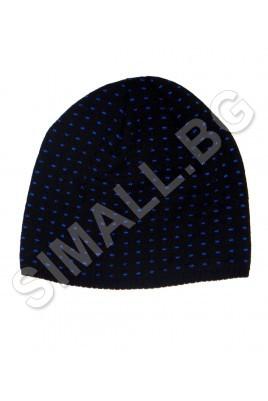 Мъжка плетена шапка