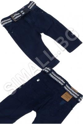 Детски панталон тип потур с колан за момчета от 1 до 3 години